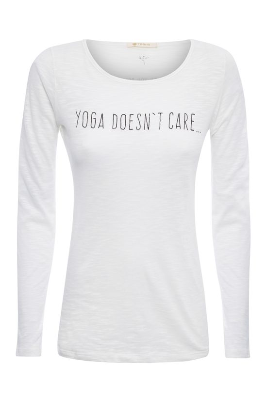 Camiseta Yoga Doesnt Care