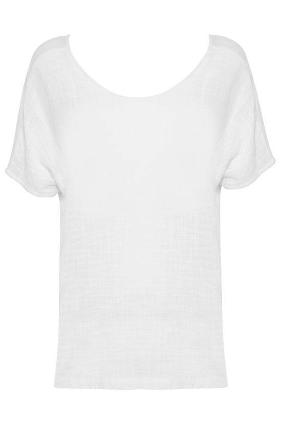 Blusa Cotton Saara Off White