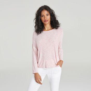 blusa-listrada-vermelha-manga-comprida