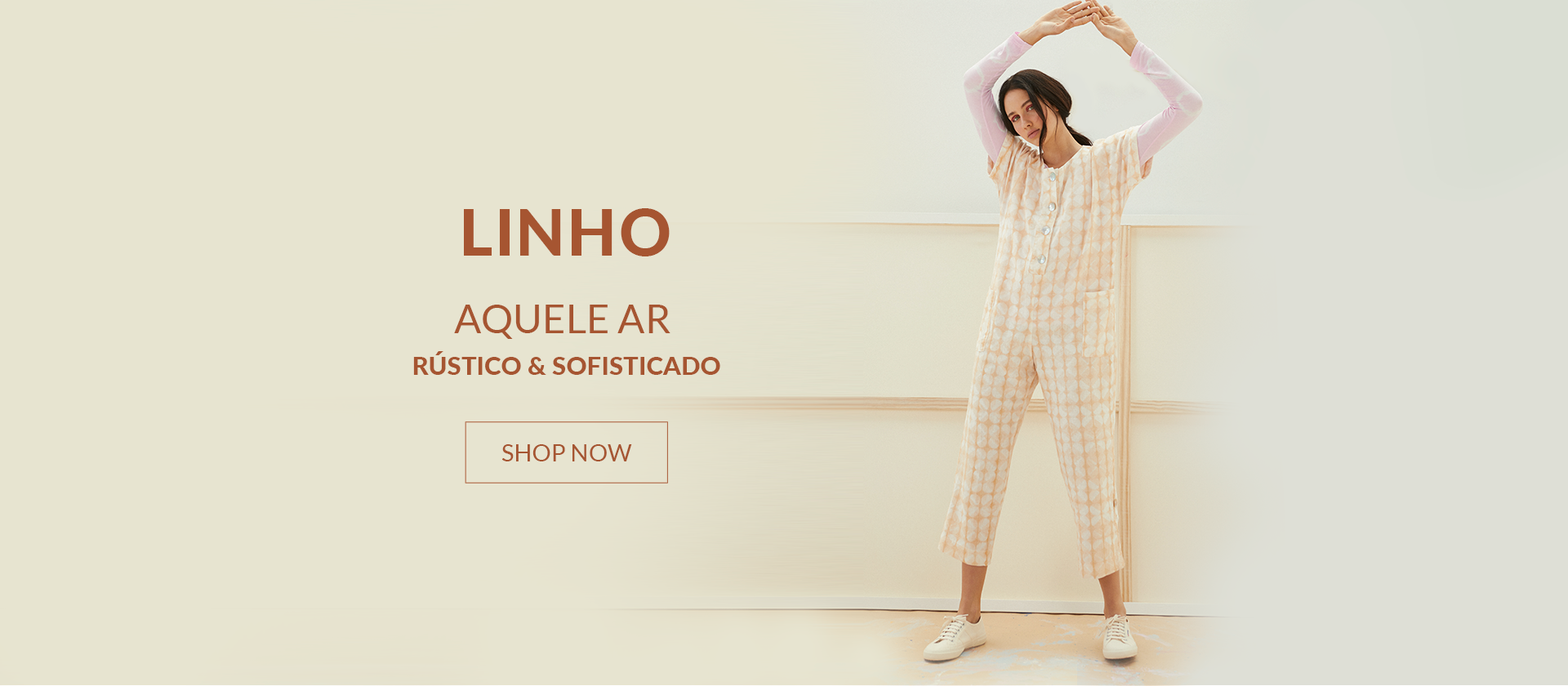 Banner Linho - Desktop