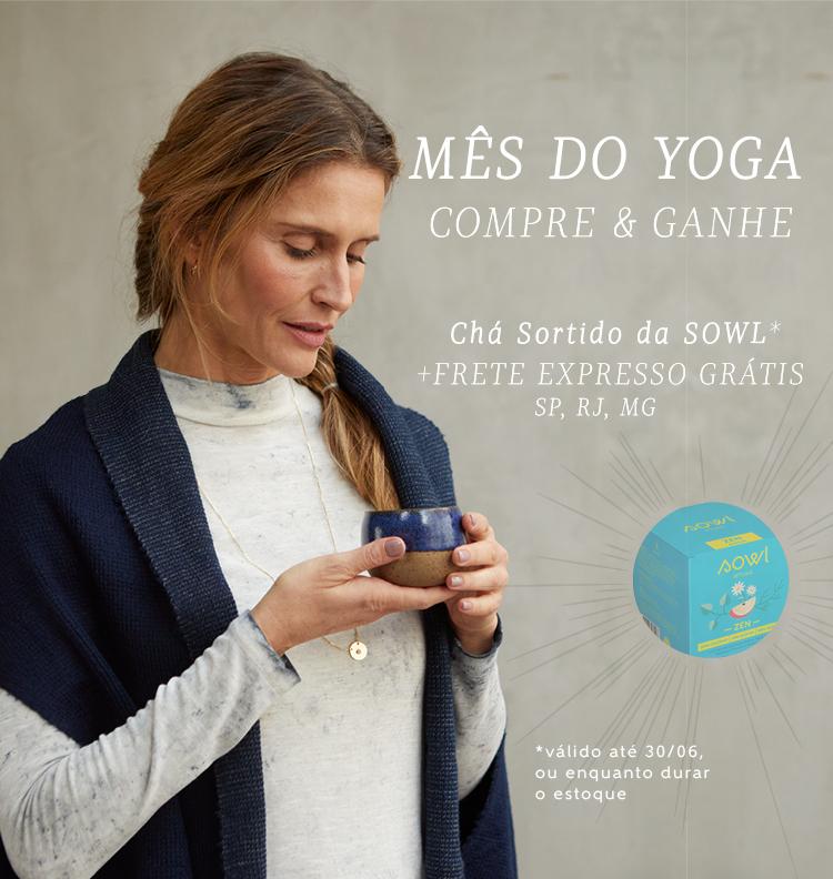Mobile - 18/06 - Mês do Yoga